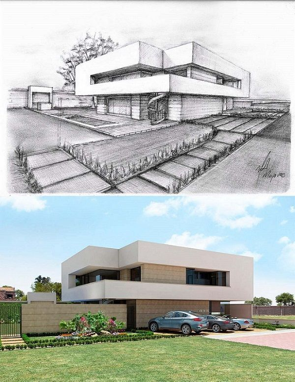 10 Spectacular Home Design Architectural Drawing Ideas In 2020 Architecture Concept Drawings Architecture Design Concept Architecture