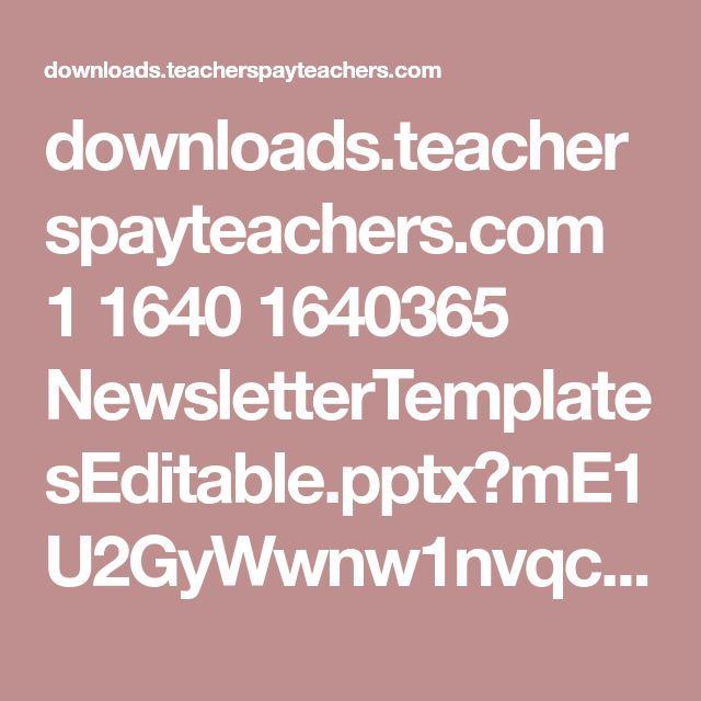 Best 25+ Preschool newsletter templates ideas on Pinterest - microsoft word newsletter templates free download