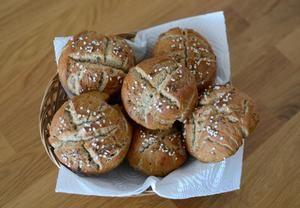 Chlebovky z žitné mouky (pro alergiky - bez pšenice, vajec, mléka) Recepty.cz - On-line kuchařka