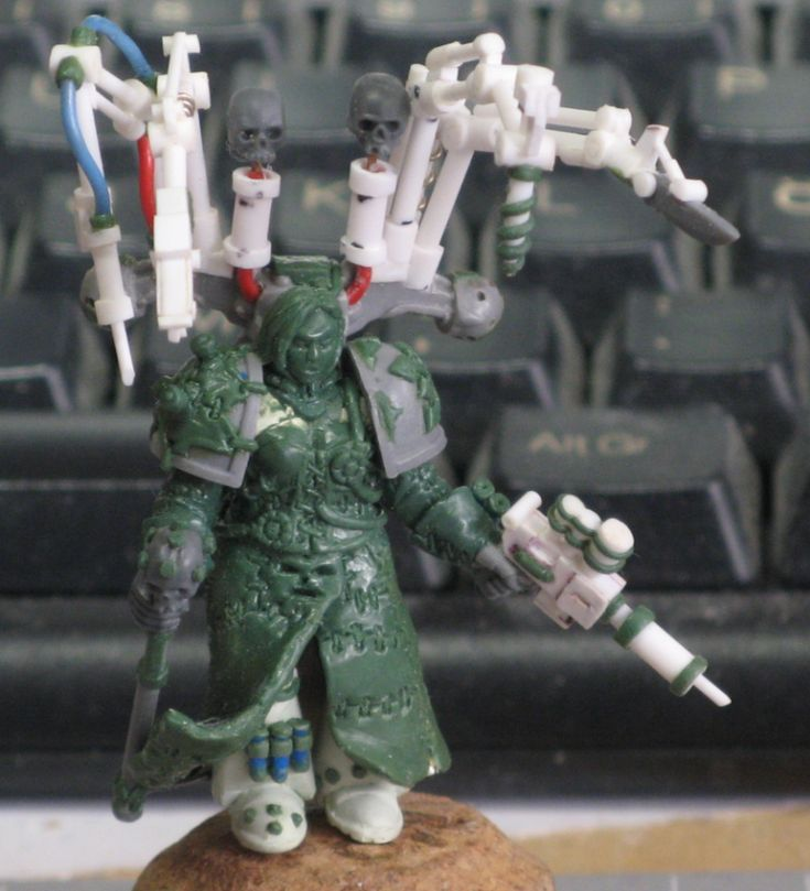 Chaos, Chaos Space Marines, Conversion, Counts As, Fabius