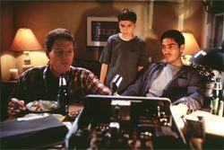 """frequency""   Dennis Quaid, Jim Caviezel and Shawn Doyle"