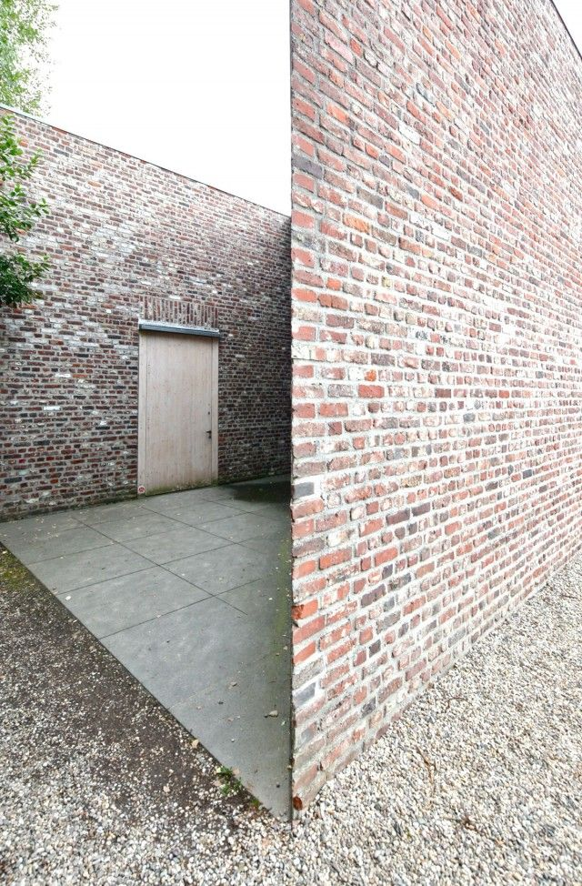 Museum Insel Hombroich, Neuss Germany, 1982-1987. A series of small buildings by Erwin Heerich.