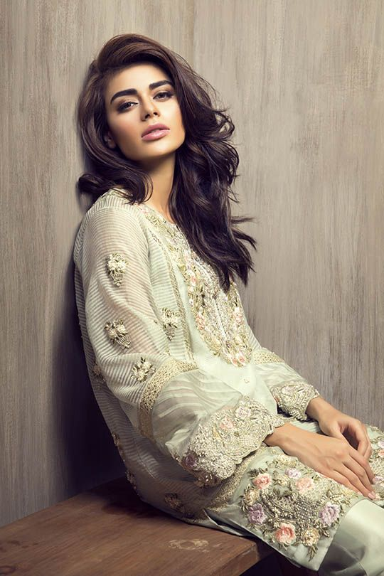 """Khadijah Shah is coming to Ensemble Karachi on 11th July with a trunk full of her new 'Wild Romance' bridals and """"Eden' Eid luxury collection that will be exhibited from 10…"""