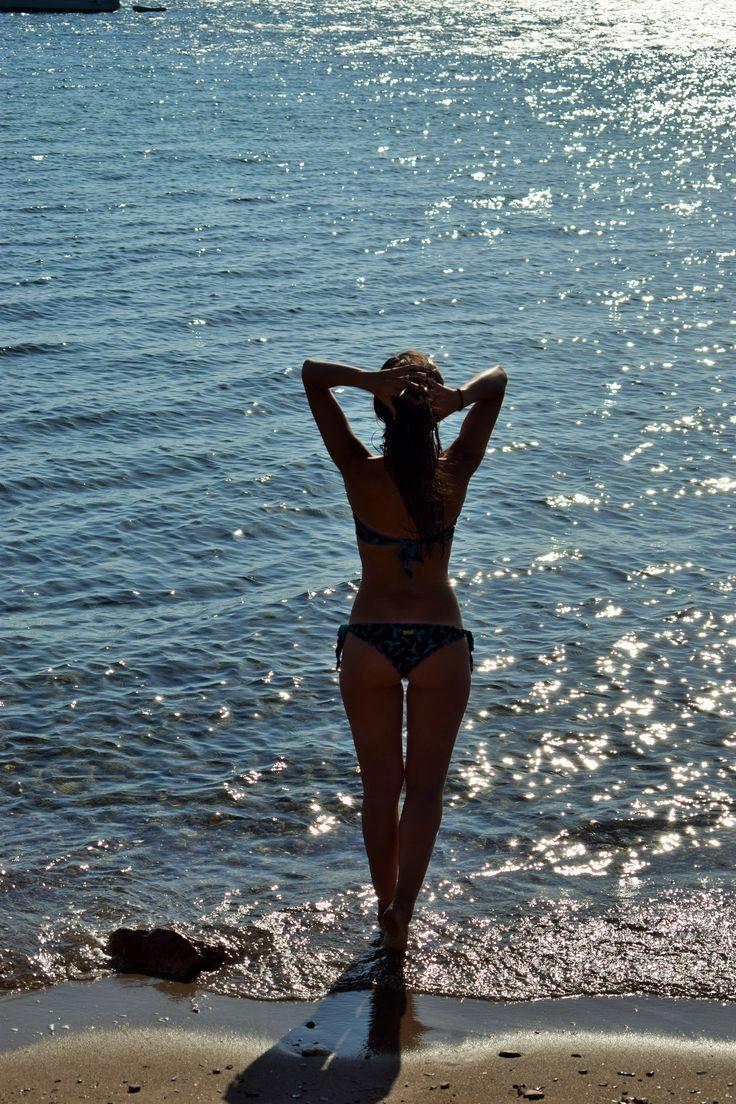 blue blue blue Aigina island Greece bikini body calzedonia bikini sun august 2016
