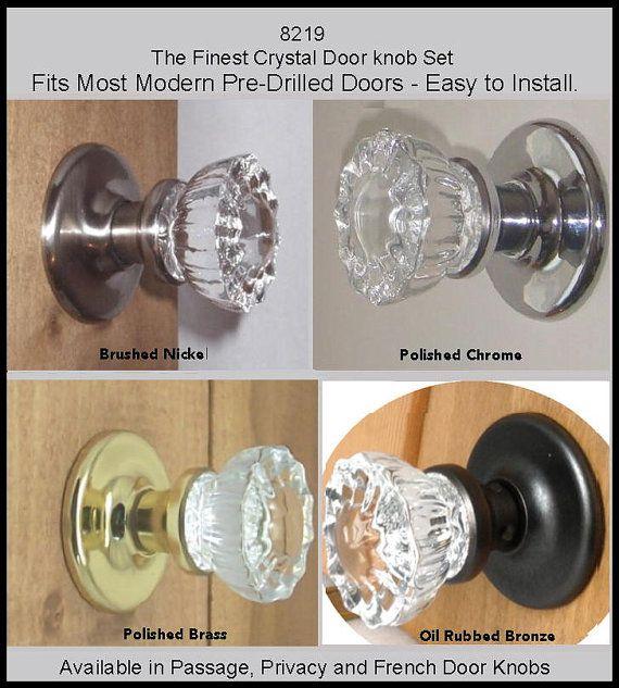 1000 Ideas About Crystal Door Knobs On Pinterest