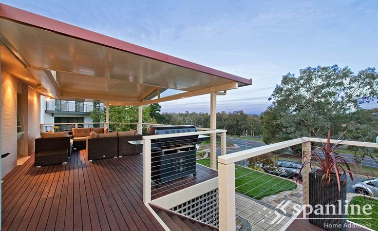 Enjoy the space and freedom to relax, entertain and play with a Spanline patio or verandah.