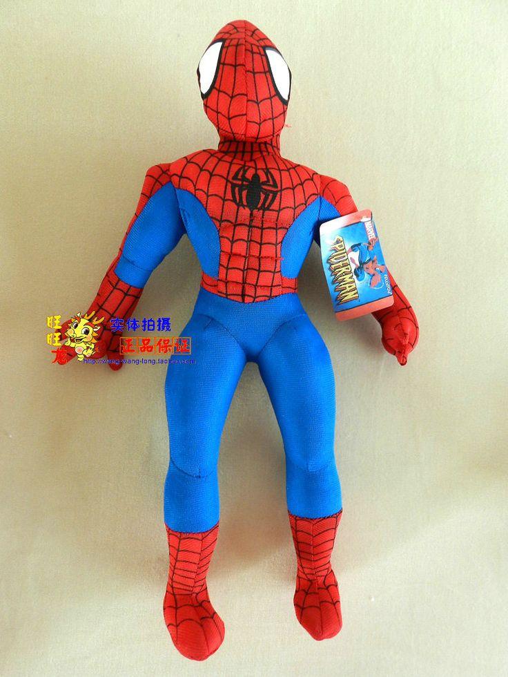 Фильм & ТВ Amazing Spider-Man Детей Игрушки Фаршированные плюшевые о 30 СМ Человек-Паук плюшевые куклы большой подарок w649