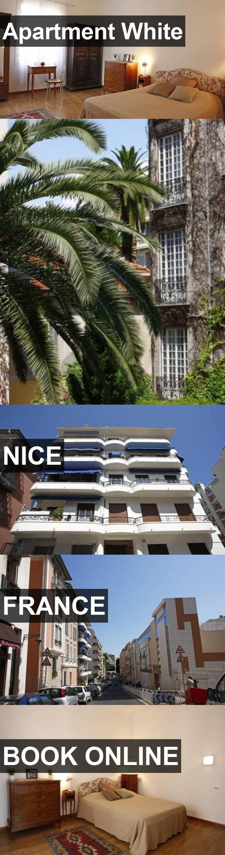 Hotel Apartment White in Nice, France. For more information, photos, reviews and best prices please follow the link. #France #Nice #ApartmentWhite #hotel #travel #vacation