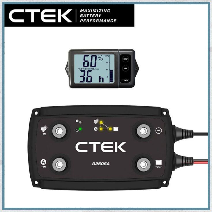 CTEK D250SE Dual DC DC 20A