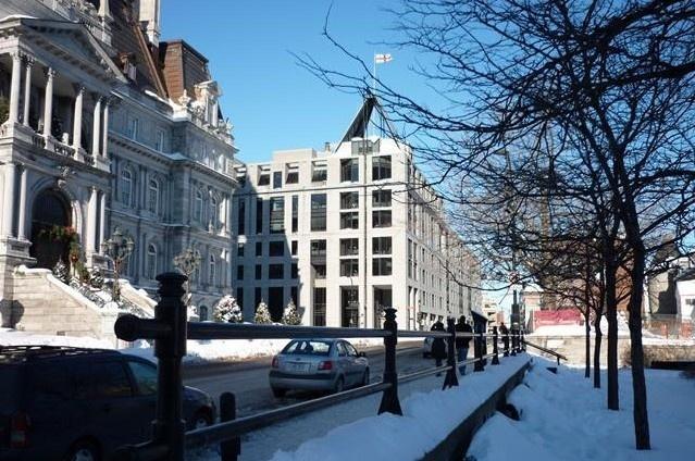Immobilier de luxe   Achat Villa-sur-le-toit Montreal Canada   Vente Superbe Penthouse Dans Le Vieux-Montréal