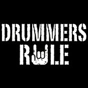 New Custom Screen Printed T-shirt Drummers Rule Humor Small - 4X 10% OFF ALL SCREEN PRINTED T-shirts!! SLASH YOUR TOTAL (in cart) ENTER CODE--->10PercentOFFANYTEE NO MINIMUM ORDER FREE SHIP www.shop.dscreenprintedtshirts.com