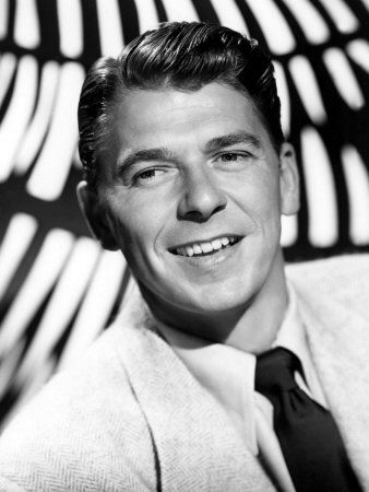 Ronald Reagan (1911-2004)  Captain, US Army Air Corps.  Because of a severe hearing loss, he was not allowed any flying duties.  However, he appeared in training films.  Prior to the war, he was a cavalry officer in the Nebraska National Guard. I didn't know he was an actor o.0