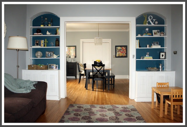 I Like The Idea Of Painting Back Wall Built Ins