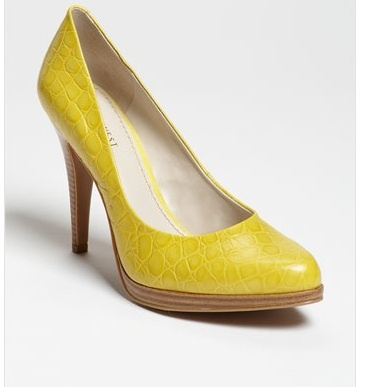 Nine West Shoes - yellow fav color!