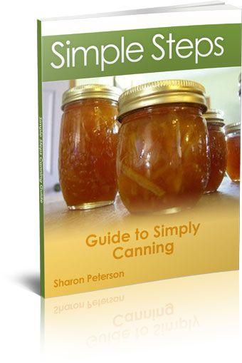 beginner canning book