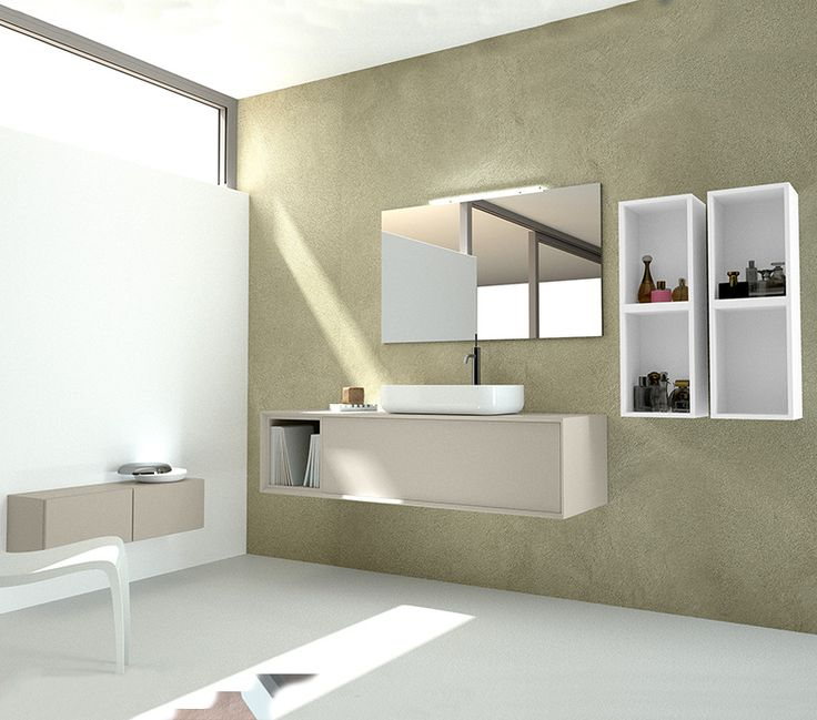 13 best arredo bagno images on pinterest | bathroom mirrors ... - Arredo Bagno Semplice