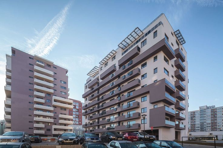 Two powerful neighboring developers decided to build dwellings on Dorobantilor Street. A vacant land occupied by improvised garages and workshop buildings on...