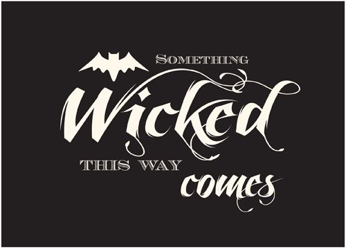 #FREE Printable bewitching-5x7-wicked-sign #halloween