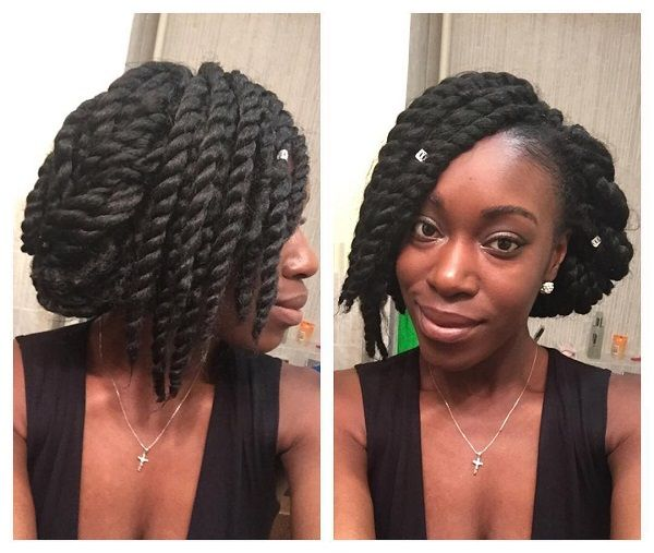 Excellent 1000 Images About Protective Natural Hairstyles On Pinterest Short Hairstyles For Black Women Fulllsitofus