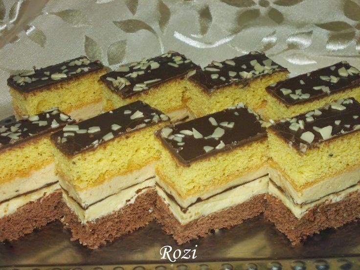 Rozi Erdélyi konyhája: Cappuccinos szelet