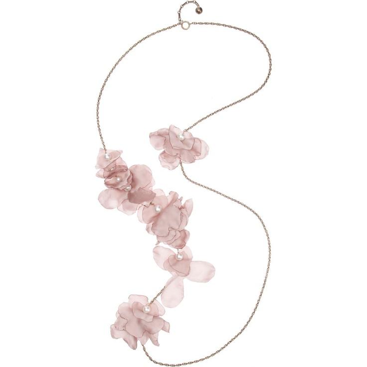 Lanvin Petales Long Necklace: Lanvin Necklaces, Petals Necklaces, Necklaces Lanvin, Lanvin Petals, Adorable Necklaces, Lanvin So Pretty, Lanvin Petales, Long Necklaces, Longer Petals