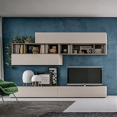 Beautiful, minimalist 'Justin' TV Unit. Perfect for both dark and light background. My Italian Living style.