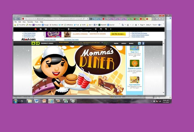 8 Fun Online Games for Girls: Momma's Diner from Game Factor