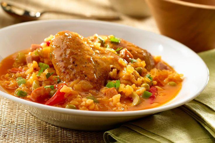 Asopao de Pollo - Chicken Rice Gumbo