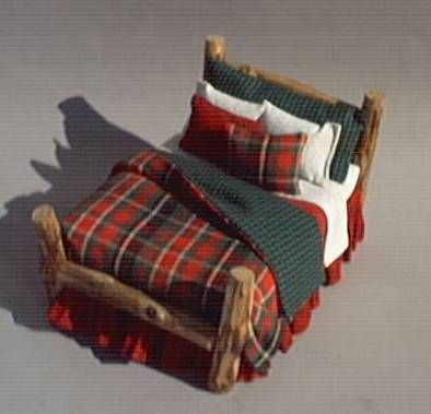 Would love to do bedding like this for my hunting/fishing cabin bed
