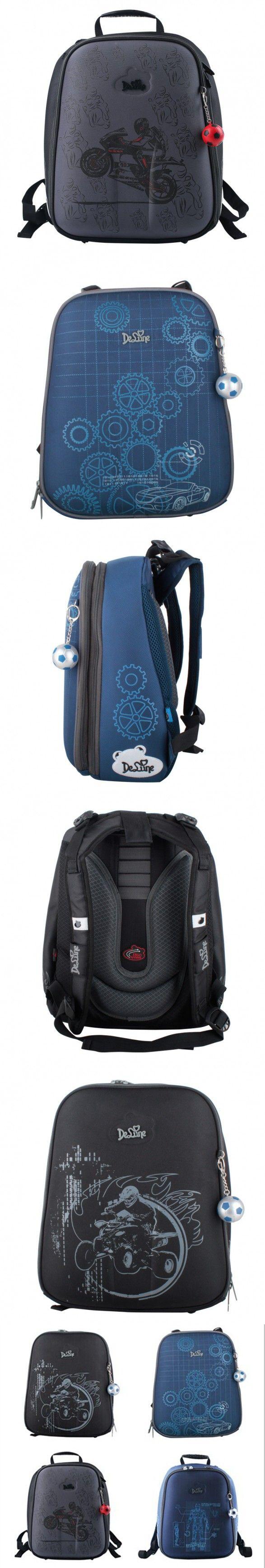 Cartoon Motorcycle Boys School Bags Orthopedic Backpacks Primary School Portfolio Kids Satchel Children Waterproof Schoolbag