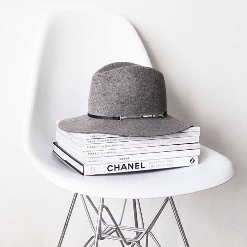 Hats, good fashion reads and iconic furniture #eames #chanel #aninebing