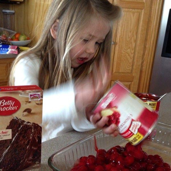 Simply Simple {Recipe: 3 Ingredient Cherry Chocolate Dump Cake}