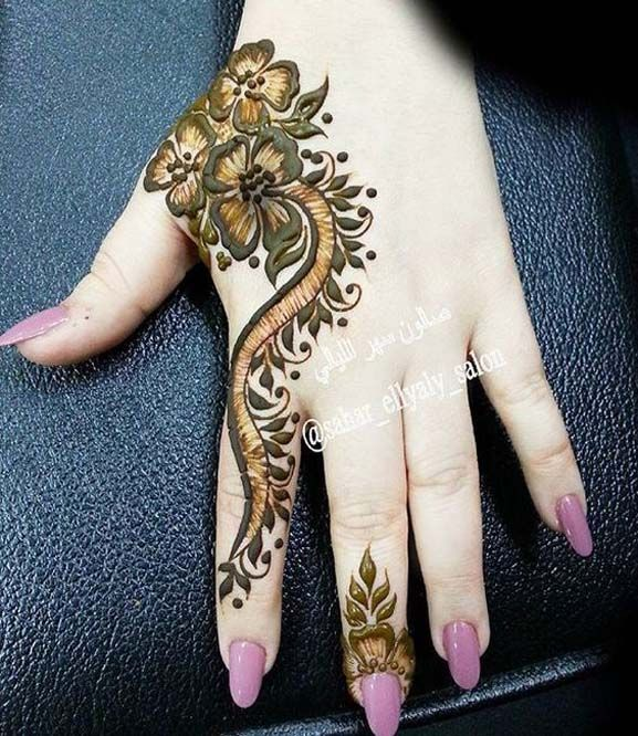 Awsome Arabic Henna Design