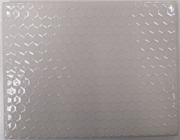 Subway Tile White Hive Texture This Honeycomb Textured Subway Tile