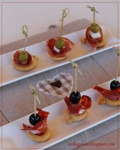 FINGER FOOD VELOCE CON I TARALLINI