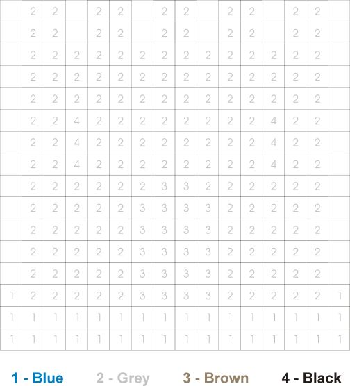 hidden pictures worksheet castle color by numbers