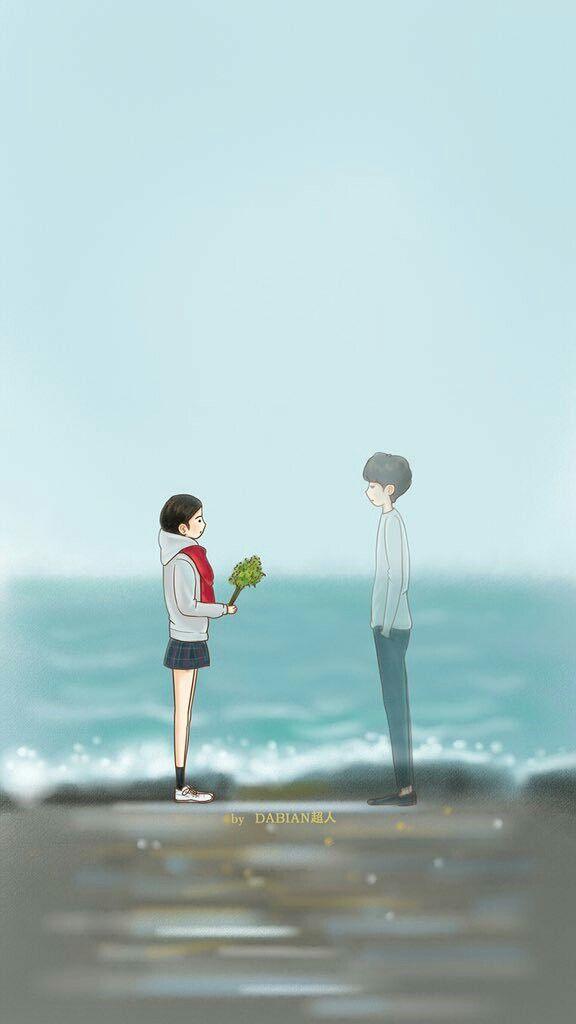 I Love You Animation Wallpaper Ghim Của Cố Tịch V 226 N Tr 234 N Chibi Ost Goblin♡ Goblin