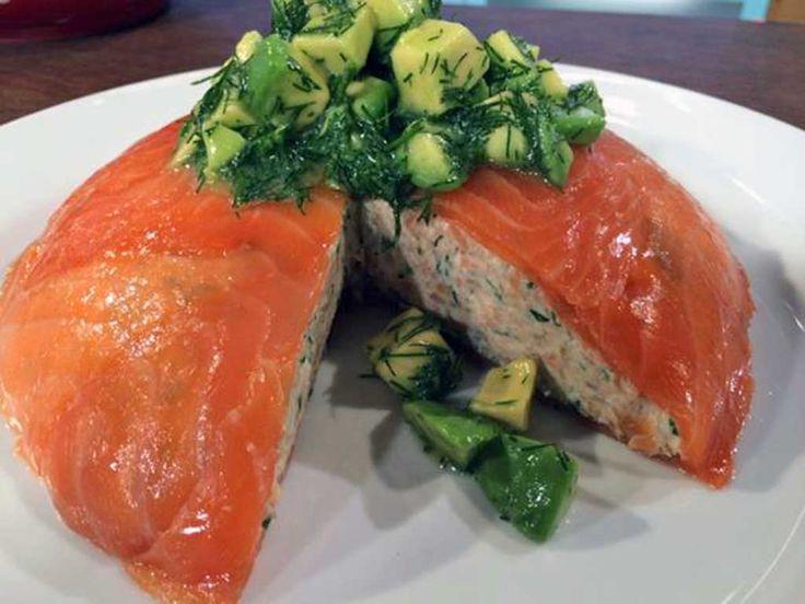 100 salmon mousse recipes on pinterest smoked salmon for Smoked salmon mousse canape