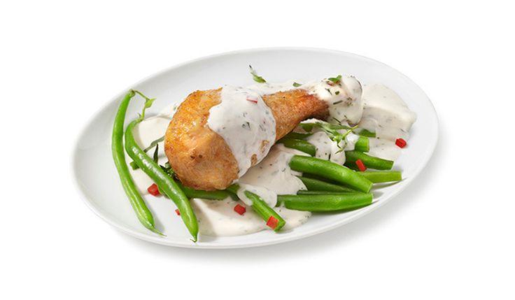 Prepara nuestra receta de pollo al estragón con queso crema Philadelphia para la hora de comer. ¡Tus platillos de ricos a deliciosos!