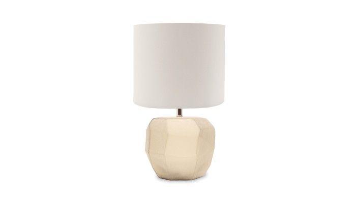 Guaxs, Round Cubistic Table Lamp - LuxDeco.com