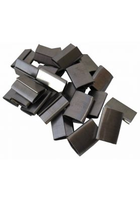 Steel Strapping Seals - Short Pusher Seal 16mm