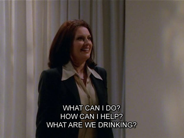 Karen Walker is the best.