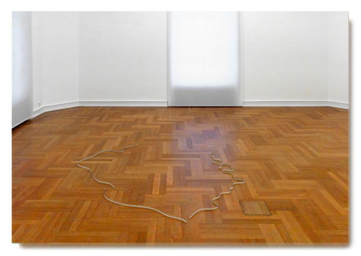 "Michał Budny, Untitled (Borders), 2006, Paper, 200 x 200 cm, Piotr Bazylko Collection, Warsaw ""PostcART: Stefanie Kreuzer, curator at Museum Morsbroich""  http://contemporarylynx.co.uk/?p=1103"