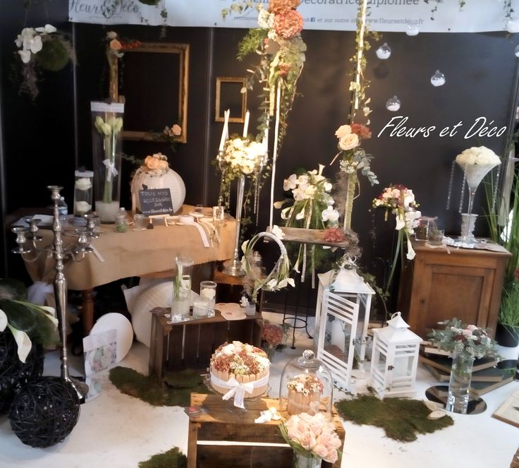 D coration vintage boh me chic au salon du mariage 2015 for Decoration du salon