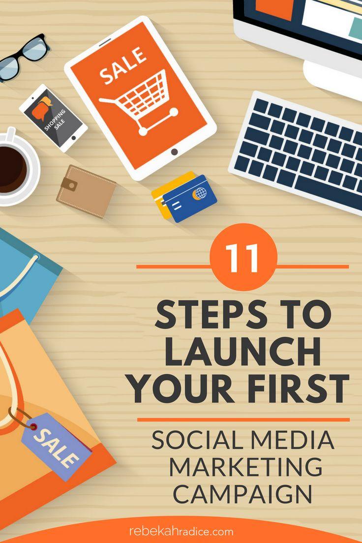 11 Steps to the Best Social Media Marketing Campaign via @RebekahRadice