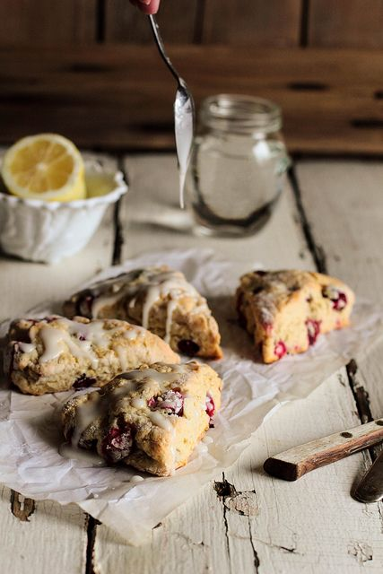 Lemon CranberryScones from @Kristin | Pastry Affair