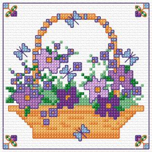BLOG Mother's Day Flower basket - Simulation
