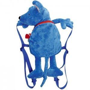 ΤΣΑΝΤΑ ΠΡΟΣΧΟΛΙΚΗ ΠΟΝΤΙΚΙ Η τσάντα πλάτης με θέμα ένα χαριτωμένο λούτρινο μπλε ποντικάκι, της εταιρίας Spiegelburg, είναι εξαιρετικά όμορφη και εύχρηστη για τον παιδικό σταθμό & το νηπιαγωγείο καθώς και για τις εκδρομές κτλ. Έχει μια θήκη που κλείνει με φερμουάρ, ρυθμιζόμενα χερούλια για καλύτερη προσαρμογή στην πλάτη, κλιπ στερέωσης για την μέση. Μια τσάντα σακίδιο με εξαιρετικό όμορφο σχεδιασμό και ανθεκτικά υλικά κατάλληλη για παιδιά. Διαστάσεις: 40,0 εκατοστών.