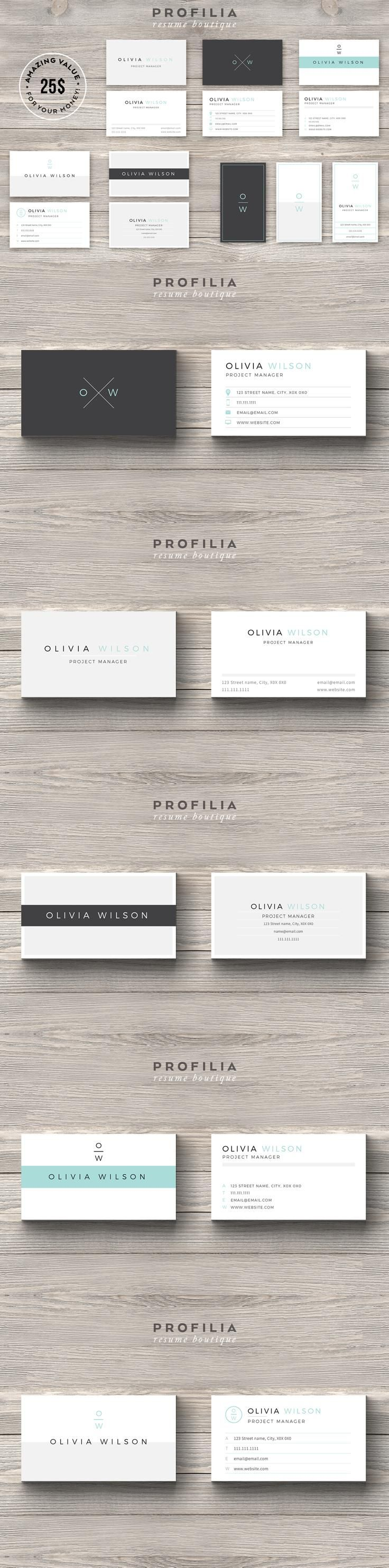 52 Best Clean Elegant Business Cards Images On Pinterest Elegant