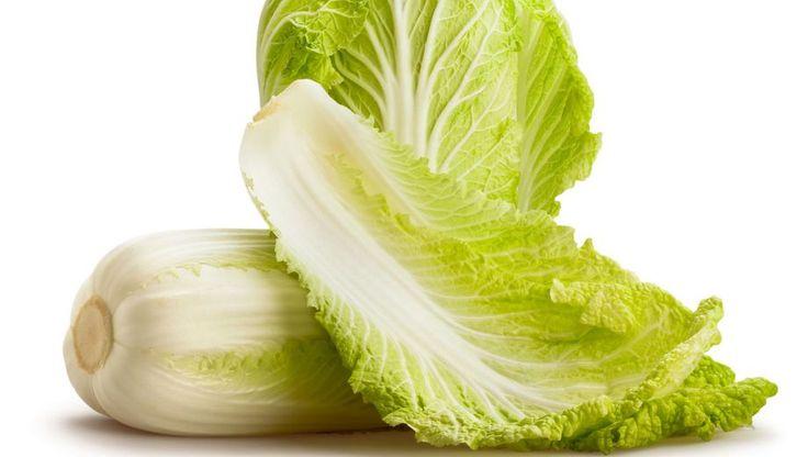 Chinese kool salade - Op smaak gebracht met ketjap en knoflook.